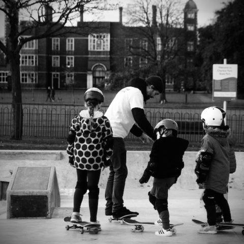 Charlton house skate school