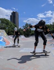 skateboarding lessons deptford