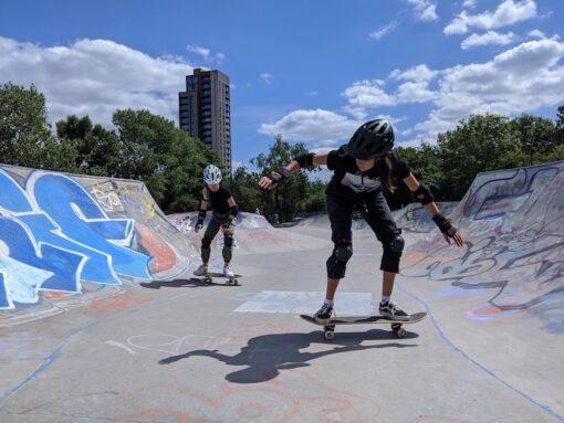 skateboarding lessons deptford