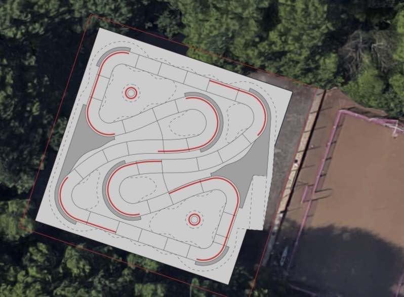 Bexley pump track design