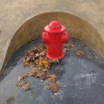 Charlton skatepark hydrant