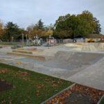Charlton skatepark street course
