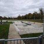 Charlton skatepark rails and hubbas