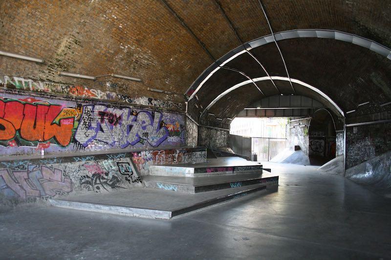 whitegrounds skatepark london bridge overview