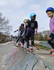 deptford progressing skateboard group lesson
