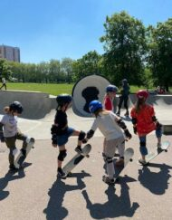 victoria park progressing group skateboard lesson