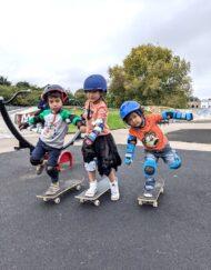 under 5s skateboard lesson